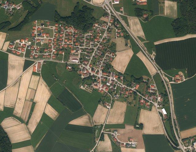 Grossansicht in neuem Fenster: Luftbild Nöham