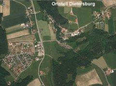 Grossansicht in neuem Fenster: Luftbild von Dietersburg