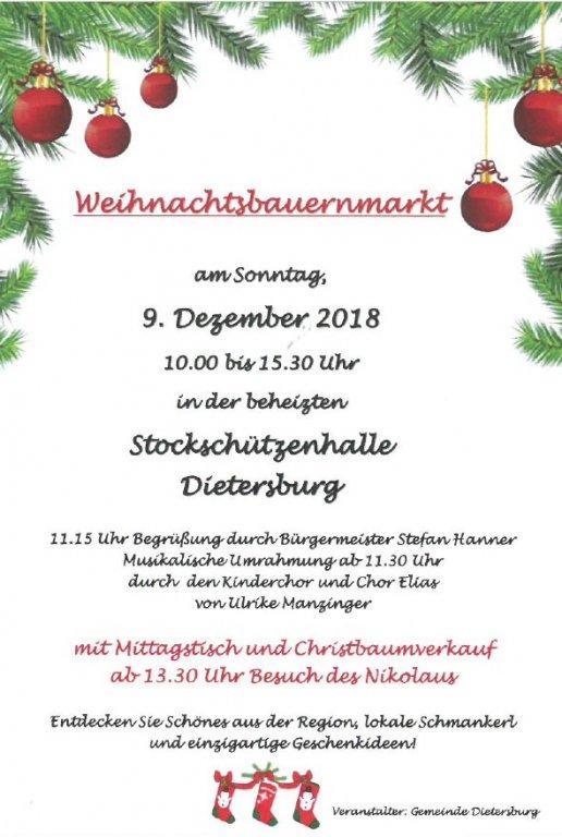 Grossansicht in neuem Fenster: Weihnachtsmarkt