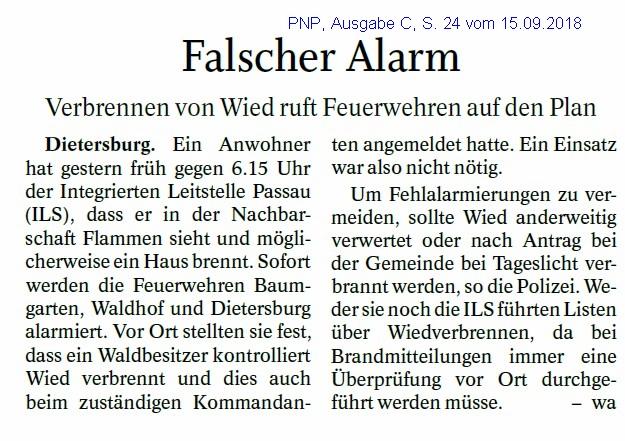 Grossansicht in neuem Fenster: Alarm