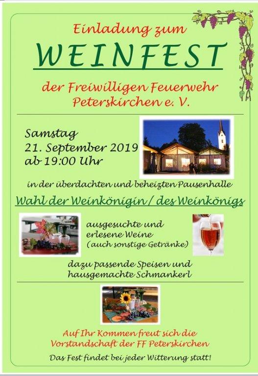 Grossansicht in neuem Fenster: Weinfest